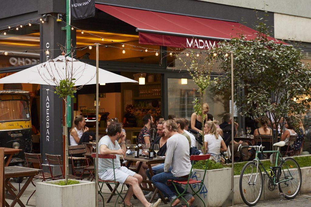Café Madam Anna Ecke Glockenbachviertel München