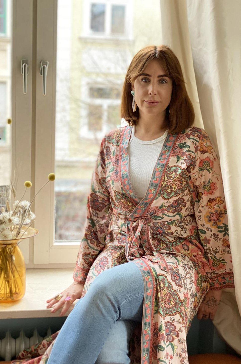 Laura Vryzonis - Gründerin von Heysilk